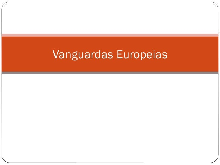 Vanguardas Europeias