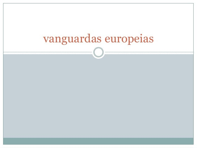 vanguardas europeias
