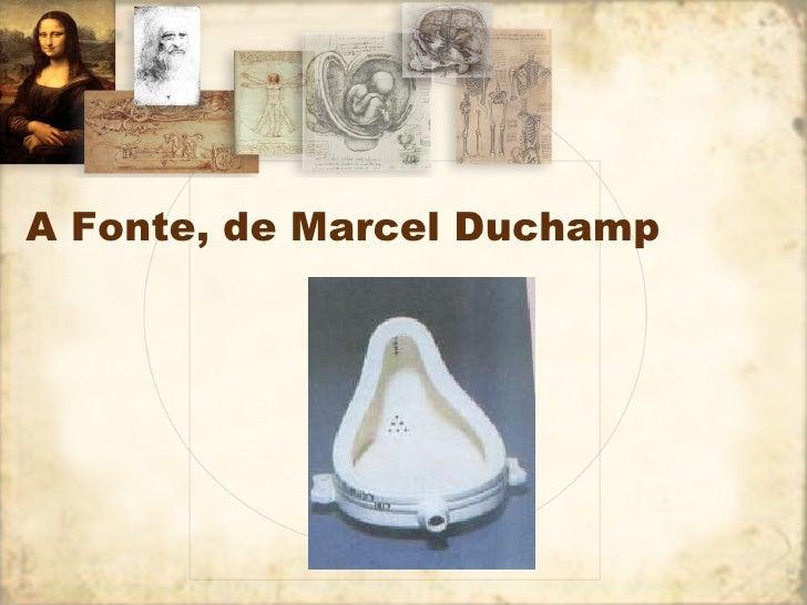 A Fonte, de Marcel Duchamp