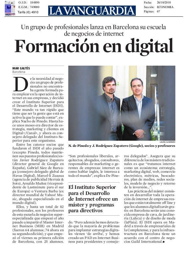 Ayuntamiento. Entre las inquie- tudes de Lennkh está una refor- ma de las pensiones sostenible para España. / Redacción me...