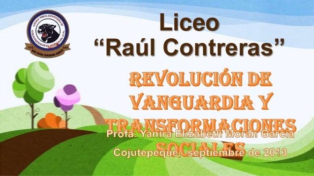 "Liceo ""Raúl Contreras"""