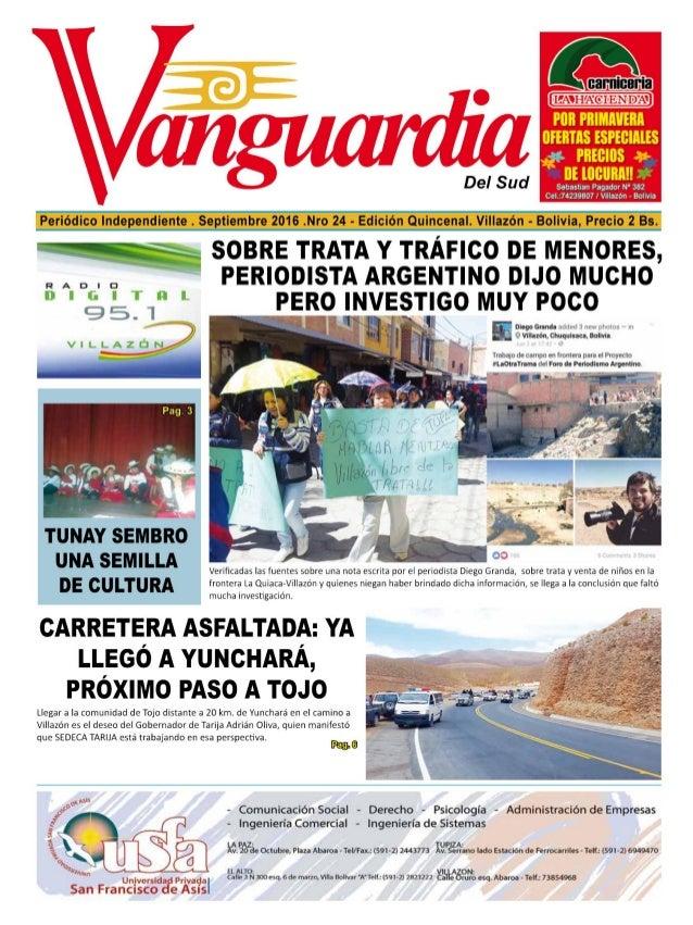 Periódico Vanguardia - Edición 24