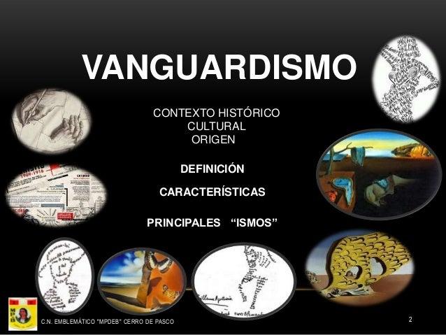 EL VANGUARDISMO UNIVERSAL