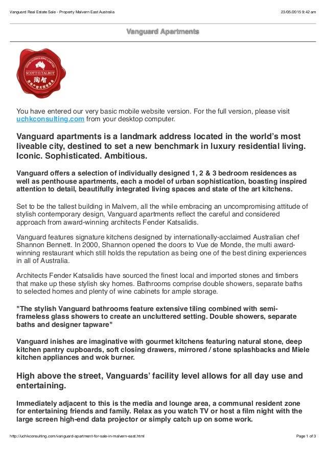 Vanguard Real Estate For Sale - uchkconsulting.com