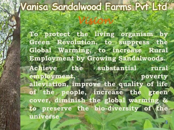 Vanisa sandalwood farms pvt ltd