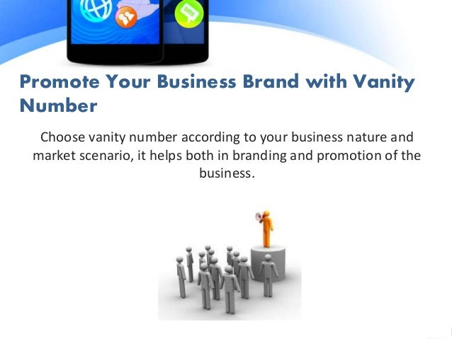 5. Promote Your Business Brand With Vanity Number ...