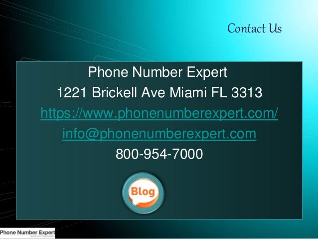 7. Contact Us Phone Number ...