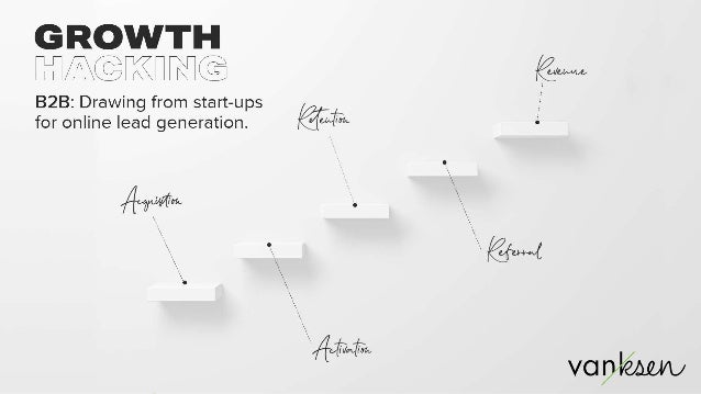 B2B & Growth Hacking: Drawing from start-ups for online lead generation.