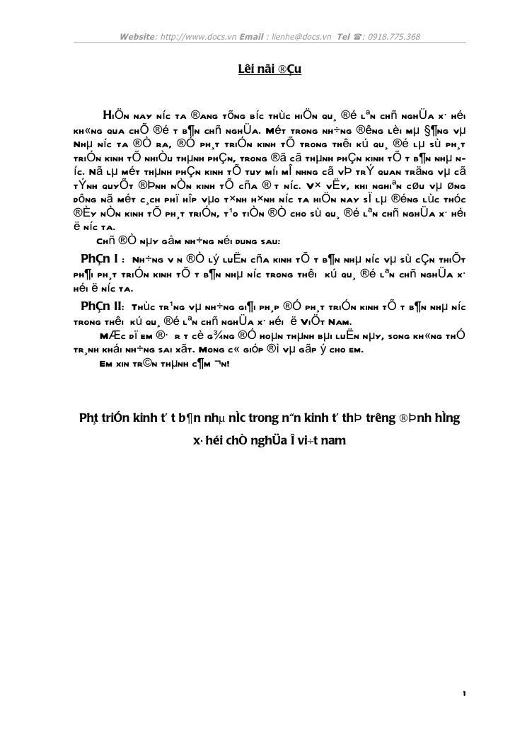 Website: http://www.docs.vn Email : lienhe@docs.vn Tel : 0918.775.368                                   Lêi nãi ®Çu      ...