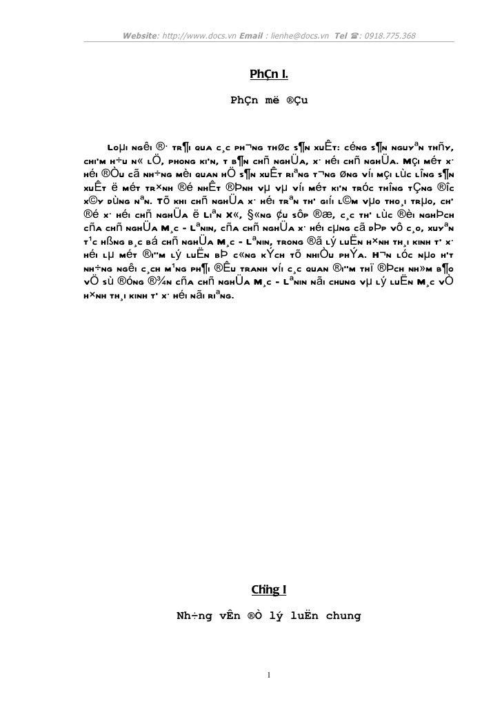 Website: http://www.docs.vn Email : lienhe@docs.vn Tel : 0918.775.368                                     PhÇn I.        ...
