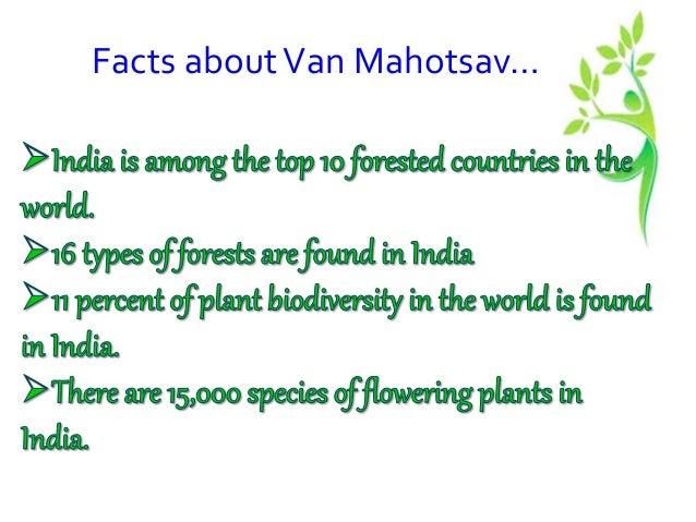 van mahotsav essay in english