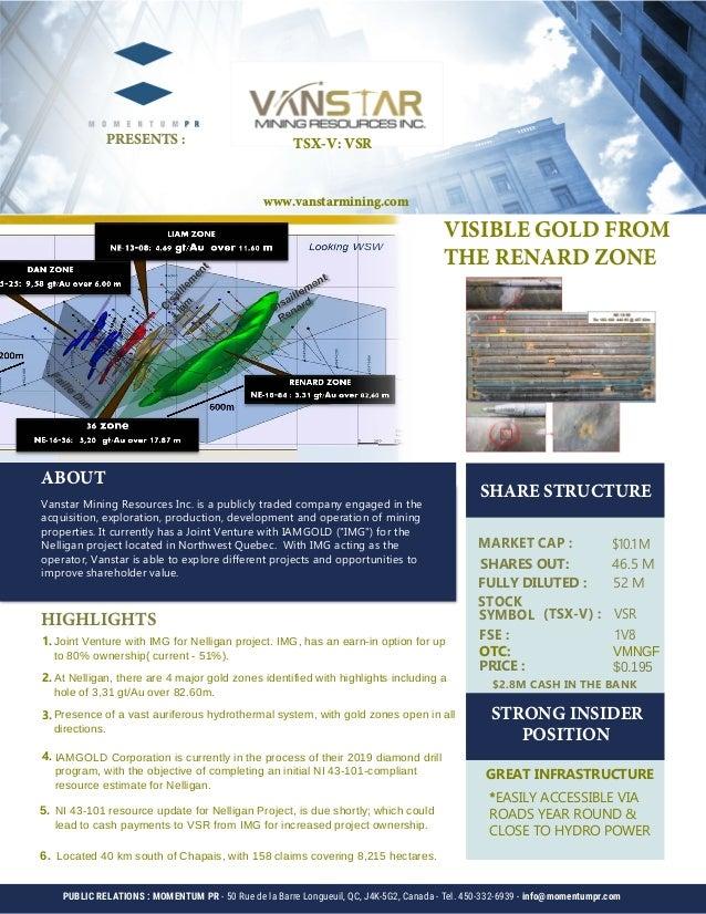 63fb96993b Vanstar factsheet - VSR-V - April 2019