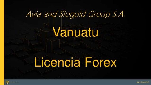 Vanuatu forex license