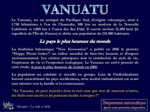 Le Vanuatu, est un archipel du Pacifique Sud, d'origine volcanique, situé àLe Vanuatu, est un archipel du Pacifique Sud, d...
