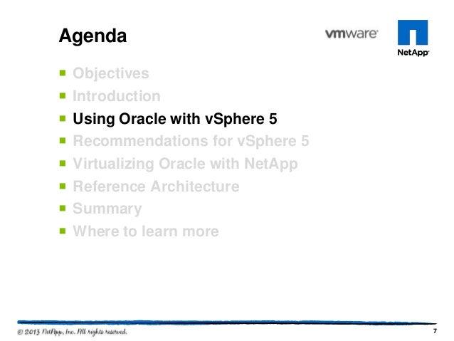 VMworld 2013: Architecting Oracle Databases on vSphere 5