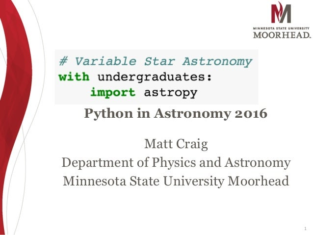 Variable Star Research with Undergraduates Using Astropy