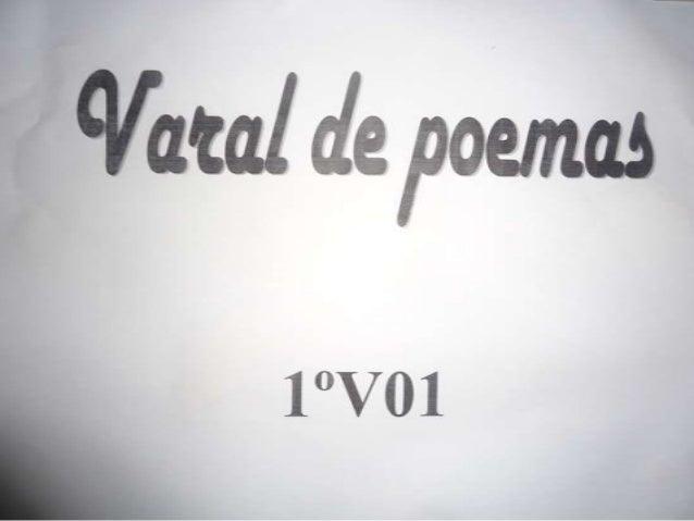 Varal de poesias