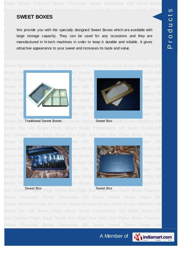 Varanaa Industries Chennai Gift Packaging Boxes