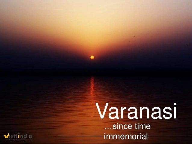 Varanasi…since time immemorial