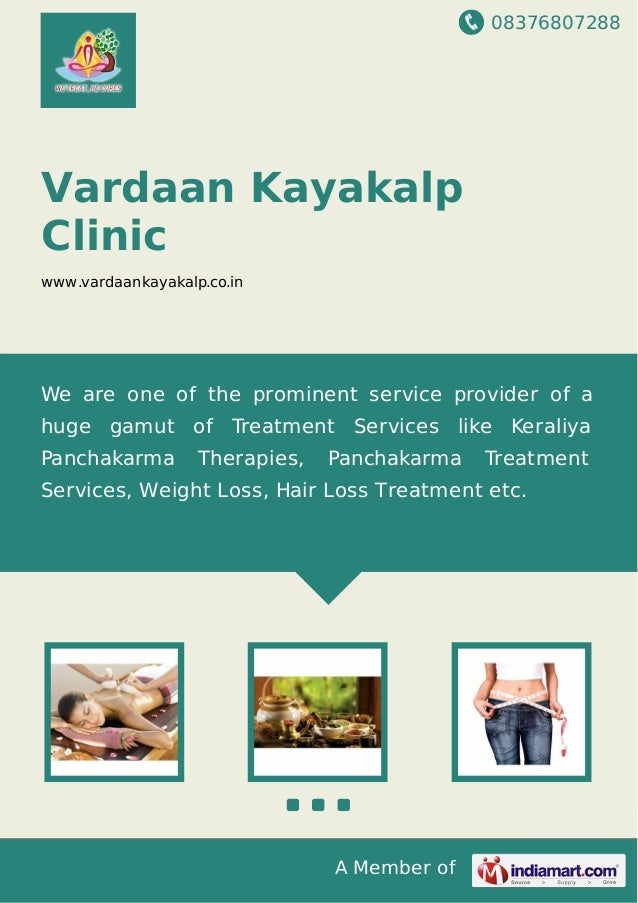 08376807288 A Member of Vardaan Kayakalp Clinic www.vardaankayakalp.co.in We are one of the prominent service provider of ...