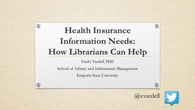 Who Needs Health Insurance Today?