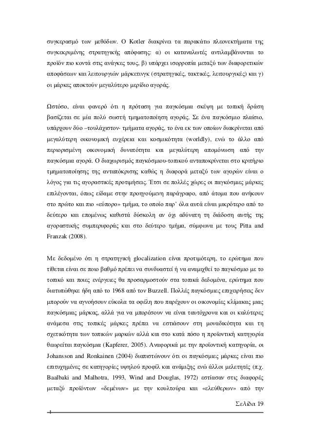 International marketing dissertation