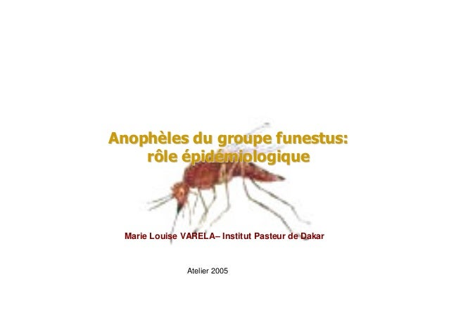 Marie Louise VARELA– Institut Pasteur de DakarAtelier 2005