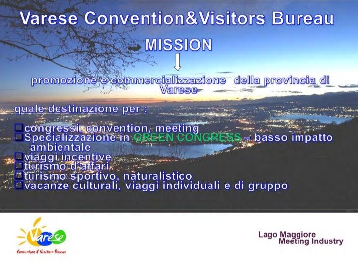 Varese Convention & Visitors Bureau