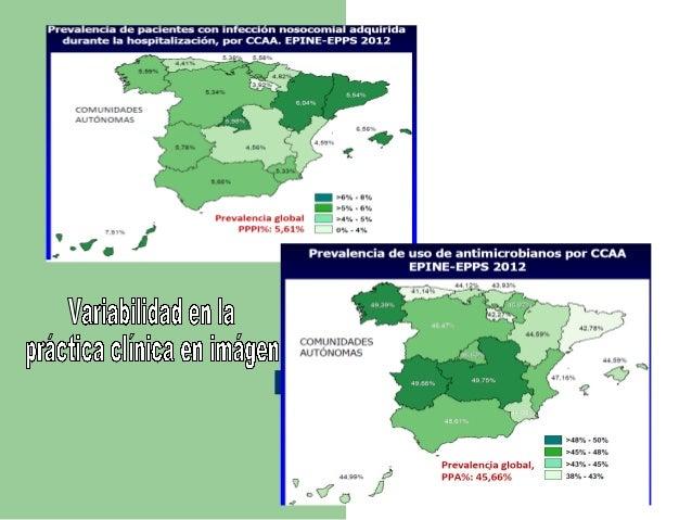 Variabilidad infeccionnosocomial2012