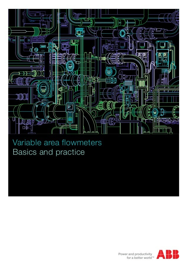 The most important variable area flow metering practices and their principles are described. A large number of practical d...