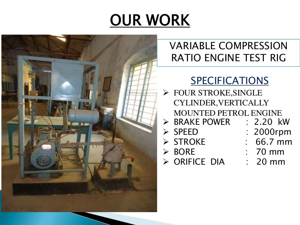 variable compression ratio A variable compression ratio mechanism of a reciprocating engine includes at  least an upper link connected at one end to a piston pin and a lower link.