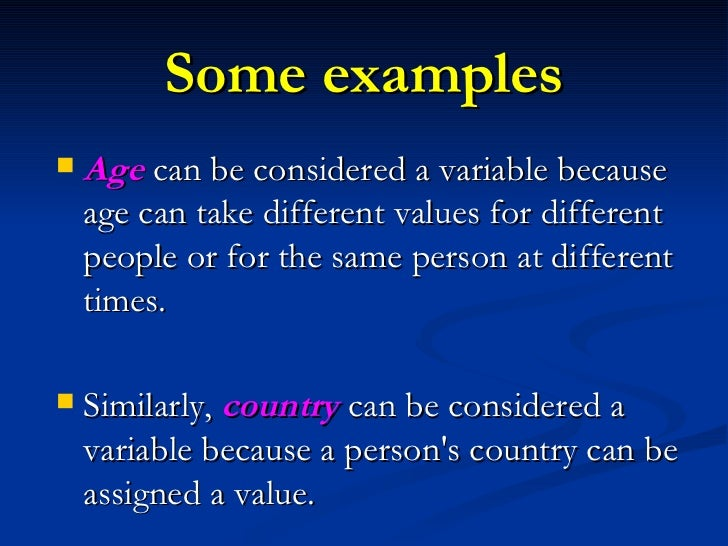 types of variables in research pdf