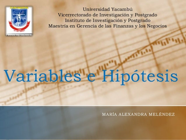 Universidad Yacambú Vicerrectorado de Investigación y Postgrado Instituto de Investigación y Postgrado Maestría en Gerenci...
