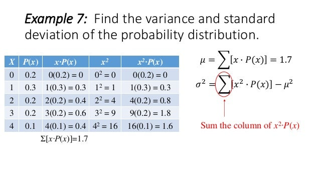 how to find standard deviation of a data set