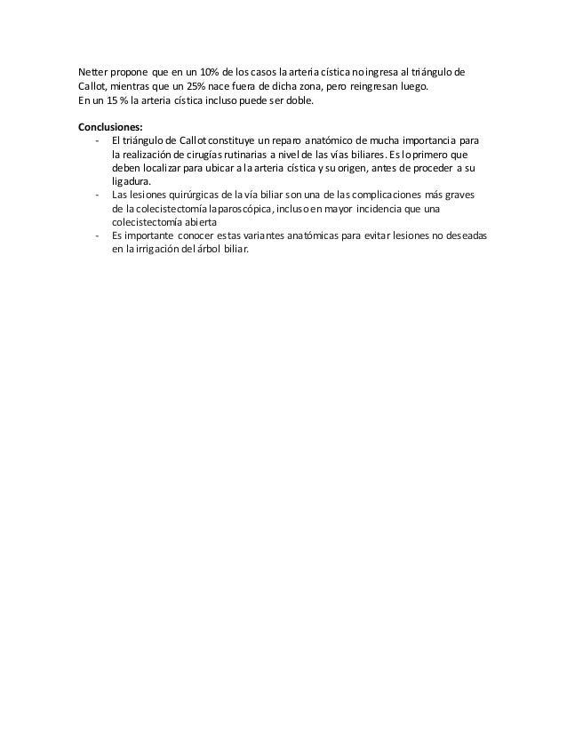Arteria Hepática y Cística: Variantes Anatómicas