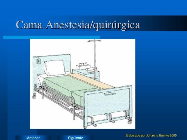 Varias cosas sue o for Cama quirurgica