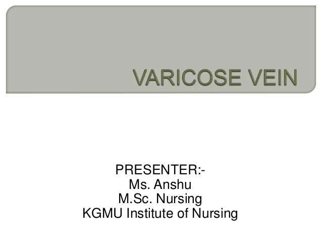 PRESENTER:- Ms. Anshu M.Sc. Nursing KGMU Institute of Nursing