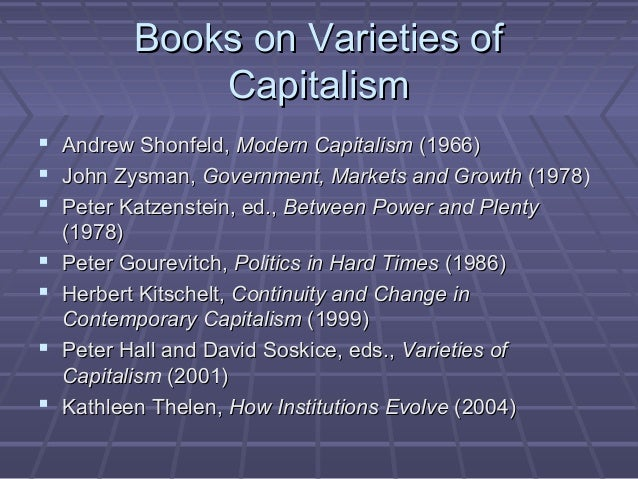 Varieties of Capitalism, Competitiveness, and Labor Slide 2