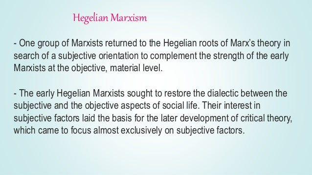 neo marxist contribution to theories o social This is a social action theorist  let us write you a custom essay sample on the contribution of marxist theories to  these theories, especially neo-marxist, .