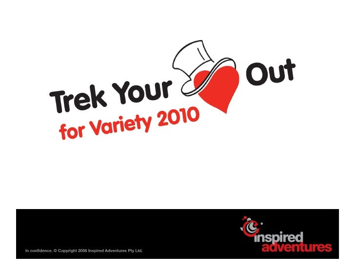 What are the Trek your Heart Out Challenges?  Adventure: 2010 is the year you could be standing on the rooftop of Africa a...