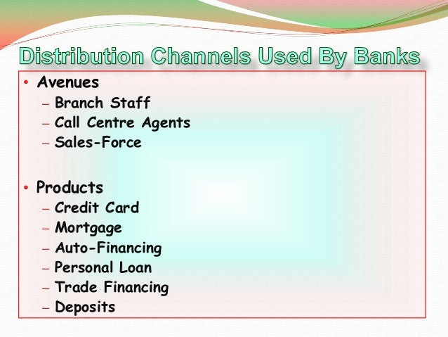 "channels of distribution for insurance products What is bancassurance ""bancassurance"" means distribution of insurance products by banks through their own distribution channels."