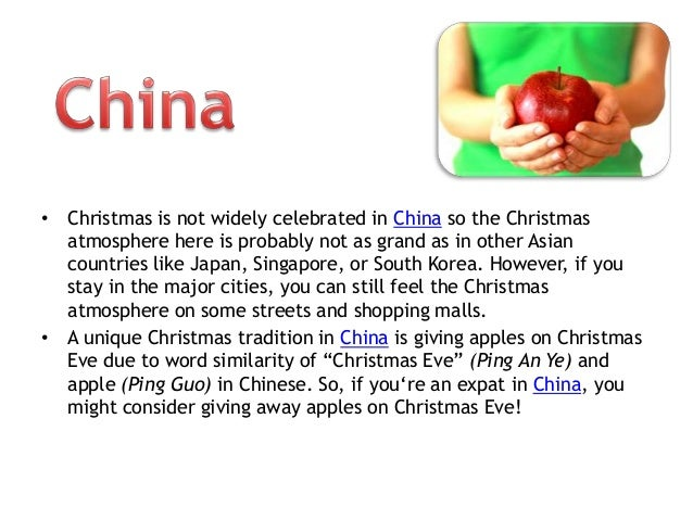 Asia Expat Guides: Various Christmas Traditions in Asia