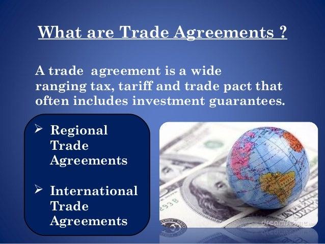 Various Trade Organisations Final