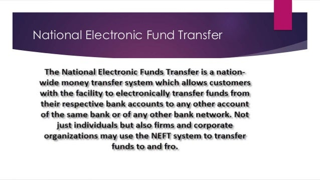 electronic fund transfer Eft (electronic funds transfer) is the name given to the general banking system  by which transactions, such as deposits or bill payments, are made through.