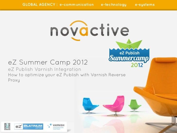 GLOBAL AGENCY : e-communication                  e-technology         e-systemseZ Summer Camp 2012eZ Publish Varnish Integ...