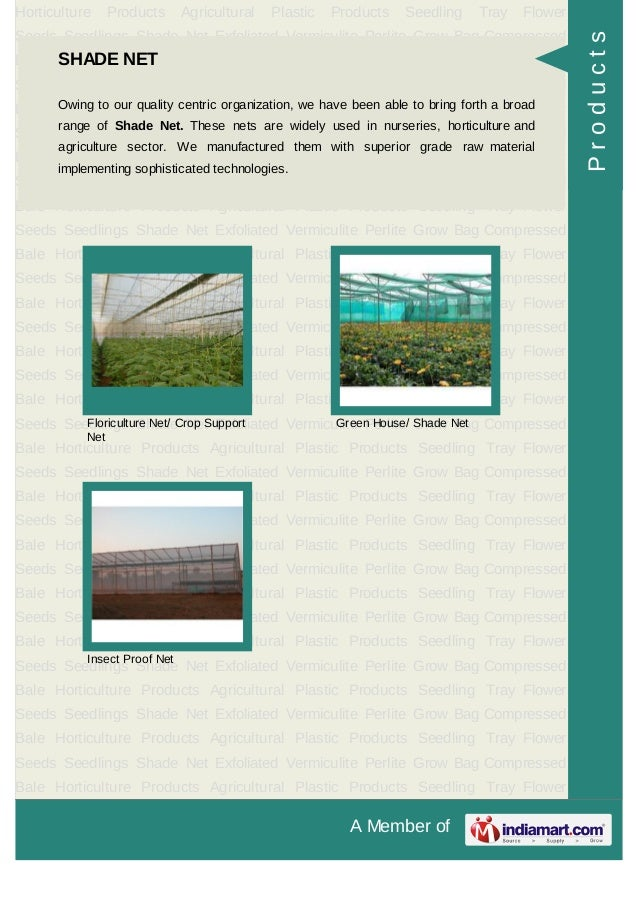 A Member ofHorticulture Products Agricultural Plastic Products Seedling Tray FlowerSeeds Seedlings Shade Net Exfoliated Ve...