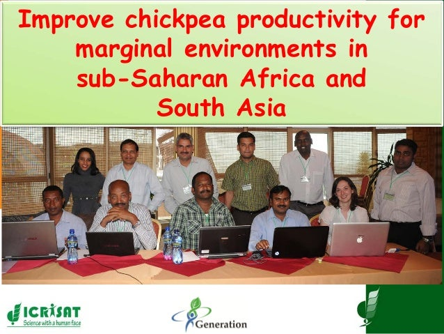 Improve chickpea productivity for marginal environments in sub-Saharan Africa and South Asia