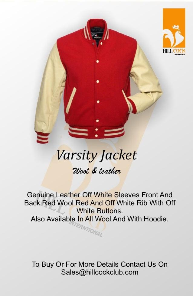 Varsity Letterman Jacket Catalogue 2018