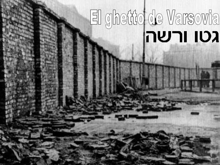 El ghetto de Varsovia