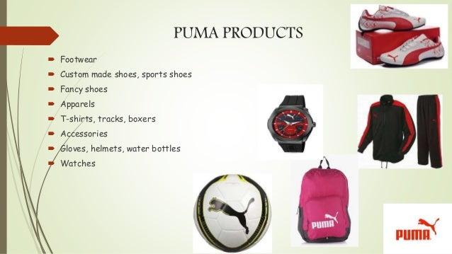 marketing product puma Marketing mix of puma : puma ag rudolf dassler sport, officially branded as puma, is a major german multinational company that produces high-end.